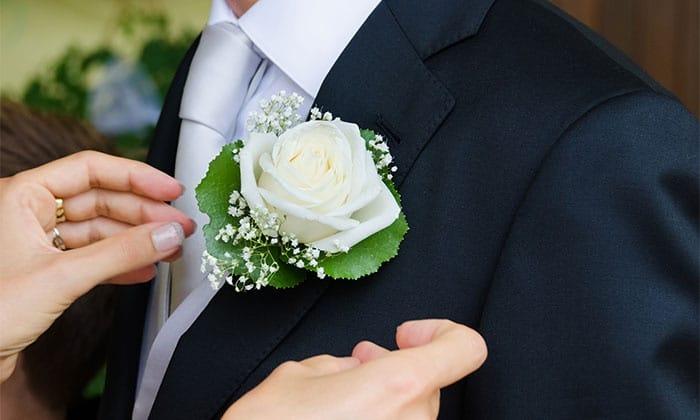detalle flor boda