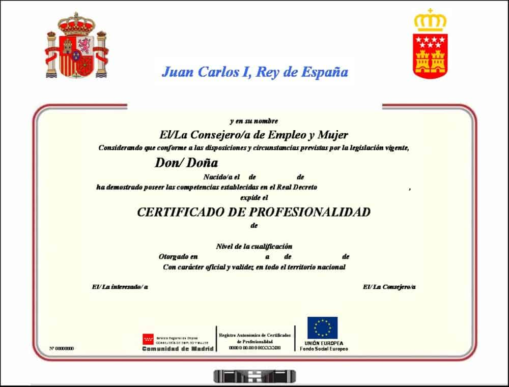 certificado marketing