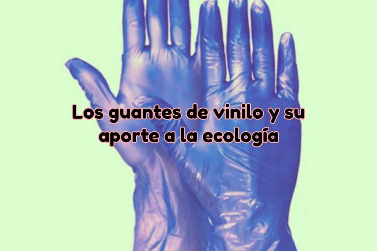guantes vinilo ecología