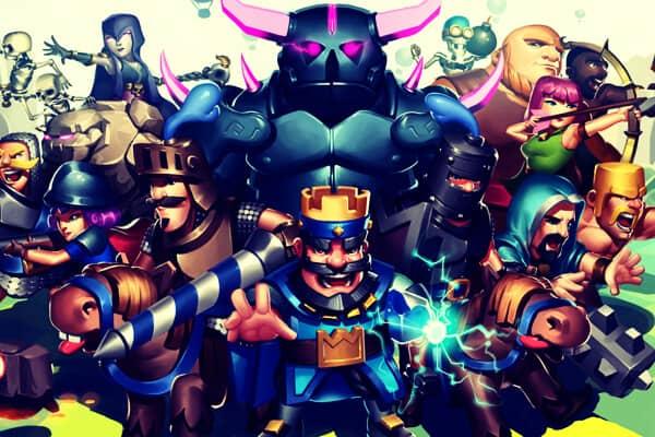 clash royale personajes