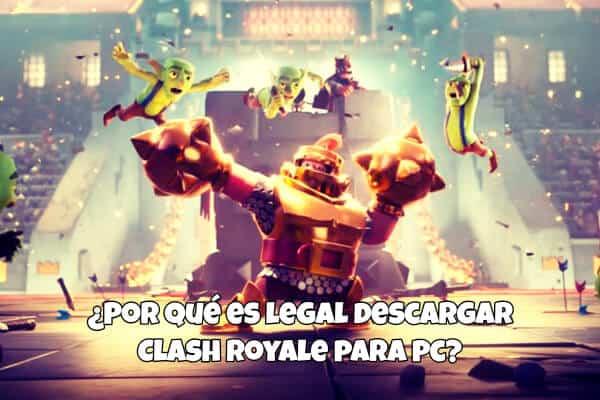 descargar clash royale pc